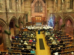 Conducting Inverkip Children's Choir